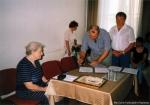 Kiss József költő és lapszerkesztő hagyatékának ünnepélyes átadás-átvétele, és az emlékszoba avatása 2003. június 7.